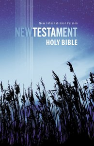 NIV Outreach New Testament Blue Wheat (Black Letter Edition)