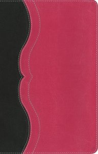 NIV Quest Study Bible Personal Size Gray/Pink Indexed (Black Letter Edition)