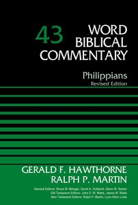Philippians (Word Biblical Commentary Series)