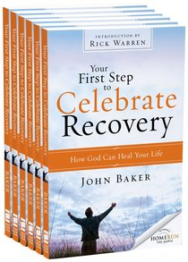 Your First Step to Celebrate Recovery (Outreach 6 Book Pack)