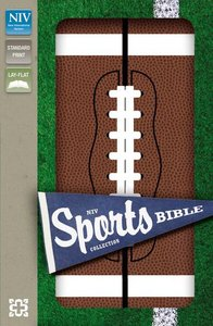 NIV Sports Collection Bible Football (Red Letter Edition)