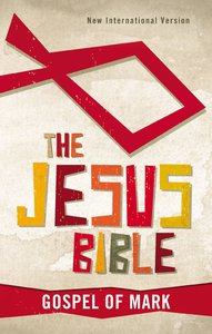 NIV Jesus Bible Gospel of Mark the (Red Letter Edition)