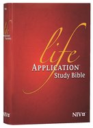 NIV Life Application Study Bible (Red Letter Edition)