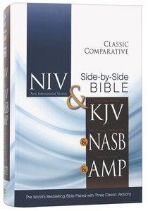 Niv/Kjv/Nasb/Amp Classic Comparative Side-By-Side Bible