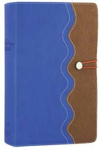 NIRV Adventure Bible For Early Readers Blue Tan With Closure
