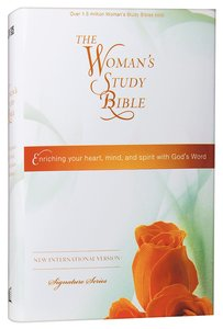 NIV Womans Study Bible (Black Letter Edition)
