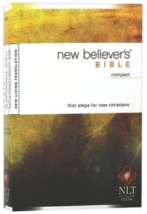 NLT New Believers Compact Bible (Black Letter Edition)