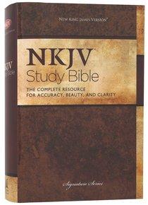 NKJV Study Bible (Black Letter Edition) (2nd Edition)