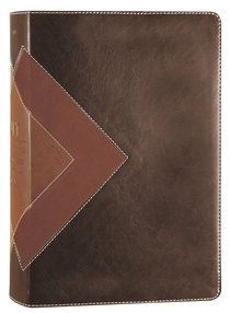 NLT Illustrated Study Bible Brown/Tan (Black Letter Edition)