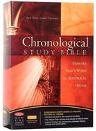 NKJV Chronological Study Bible Burgundy (Black Letter Edition)
