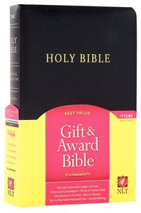 NLT Gift & Award Black (Red Letter Edition)