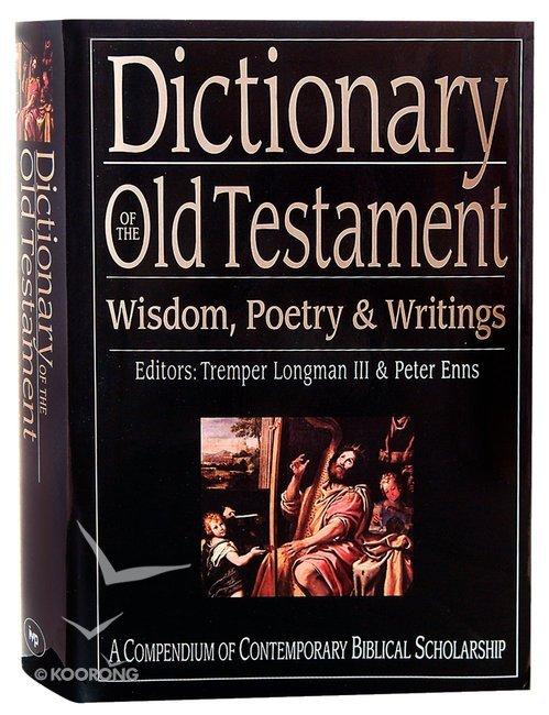 wisdom/poetic books of the bible