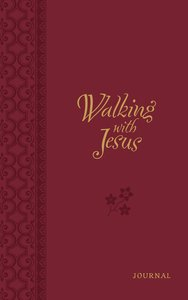 Journal: Walking With Jesus Red/White