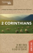 2 Corinthians (Shepherds Notes Bible Summary Series)