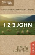 1, 2, 3 John (Shepherds Notes Bible Summary Series)