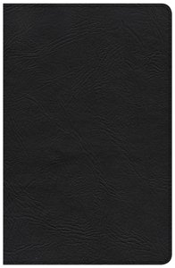 CSB Large Print Personal Size Reference Bible Brown