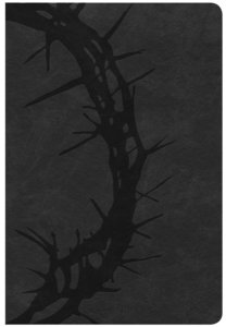 CSB Giant Print Reference Bible Charcoal (Red Letter Edition)