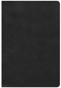 CSB Giant Print Reference Bible Black