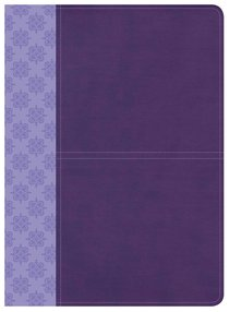 CSB Study Bible Purple