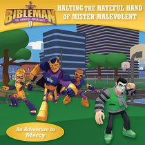 Bibleman: Halting the Hateful Hand of Mister Malevolent/Pulverizing the Plans of the Prince of Pride, Flipbook
