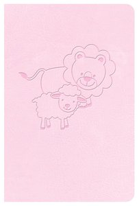 CSB Babys New Testament With Psalms Pink (Red Letter Edition)