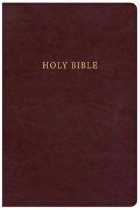 KJV Large Print Personal Size Reference Bible Classic Burgundy (Red Letter Edition)