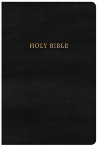 NKJV Large Print Personal Size Reference Bible Classic Black (Red Letter Edition)