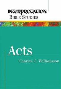 Acts (Interpretation Bible Study Series)