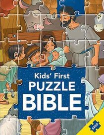 Kids First Puzzle Bible (Six 30 Piece Puzzles) (Kids Puzzle Bibles Series)