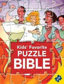 Kids Favorite Puzzle Bible (Six 30 Piece Puzzles) (Kids Puzzle Bibles Series)