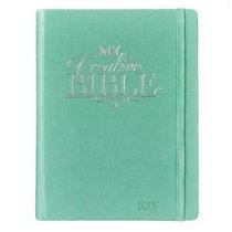 KJV My Creative Bible Aqua (Black Letter Edition)