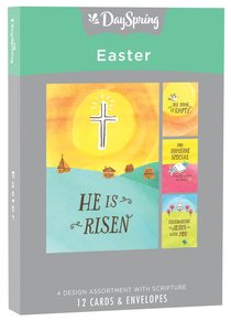 Easter Boxed Cards: He is Risen