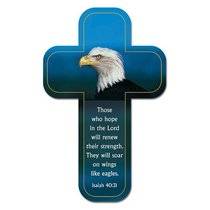 Bookmark Cross-Shaped: Those Who Hope in the Lord.... Isaiah 40:31