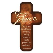 Bookmark Cross-Shaped: Grace.... 2 Corinthians 12:9
