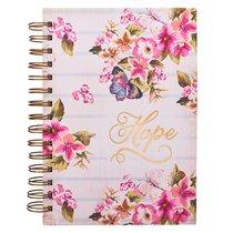 Wirebound Journal: Hope, Floral