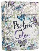Adult Boxed Coloring Cards: Psalms in Color