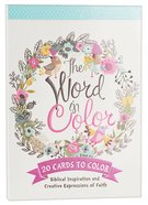 Acb: Cards to Color - The Word of Color