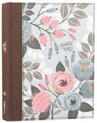 NKJV Beautiful Word Bible Multi-Color Floral Cloth