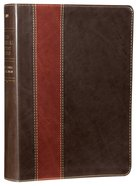 NLT the Swindoll Study Bible Brown Tan (Black Letter Edition)