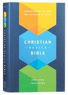 NLT Christian Basics Bible the (Black Letter Edition)