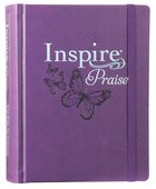 NLT Inspire Praise Bible Purple (Black Letter Edition)