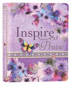 NLT Inspire Praise Bible Purple Garden (Black Letter Edition)