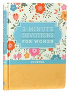3-Minute Devotions For Women Journal