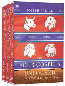The Four Gospels Unlocked For Your Blessings (4 Dvd Set)