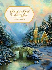 Christmas Blank Packaged Note: Glory to God in the Highest (Luke 2:14 Kjv)