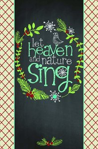 Christmas Premium Boxed Cards: Let Heaven and Nature Sing (Luke 2:10,11 Nlt)