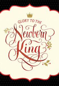 Christmas Boxed Cards: Glory to the Newborn King (Numbers 6:24 Niv)