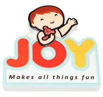 Fridge Magnet: My Angel and Me, Joy Makes All Things Fun