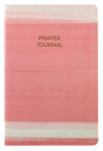 Prayer Journal:6 Month Weekly Layout (Pink Stripe)