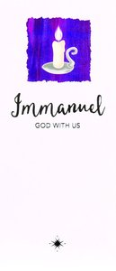 Christmas Boxed Cards Candle, Immanuel God With Us